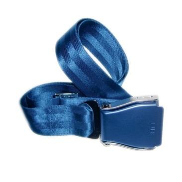Flugzeuggürtel in Blau / Blau