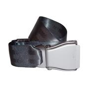 Flugzeuggürtel in Silber / Grau