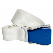 Flugzeuggürtel in Blau / Weiß