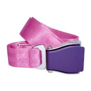 Flugzeuggürtel in Lila / Pink