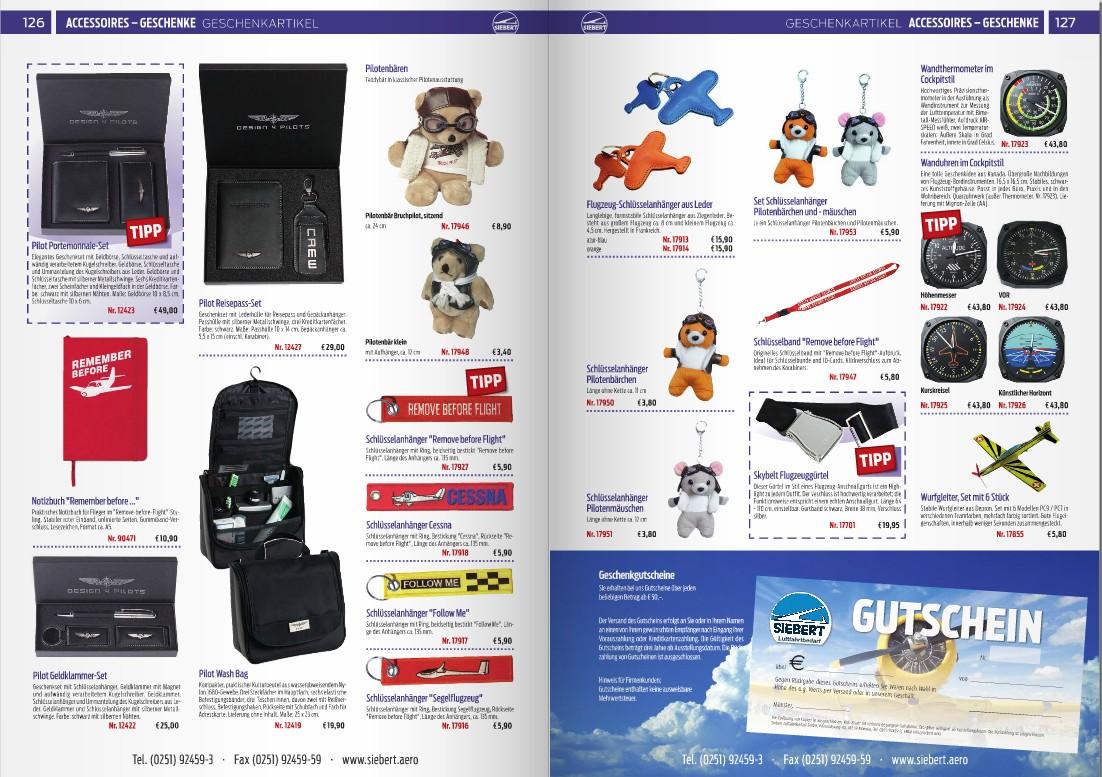 Katalog Siebert Luftfahrtbedarf 2015