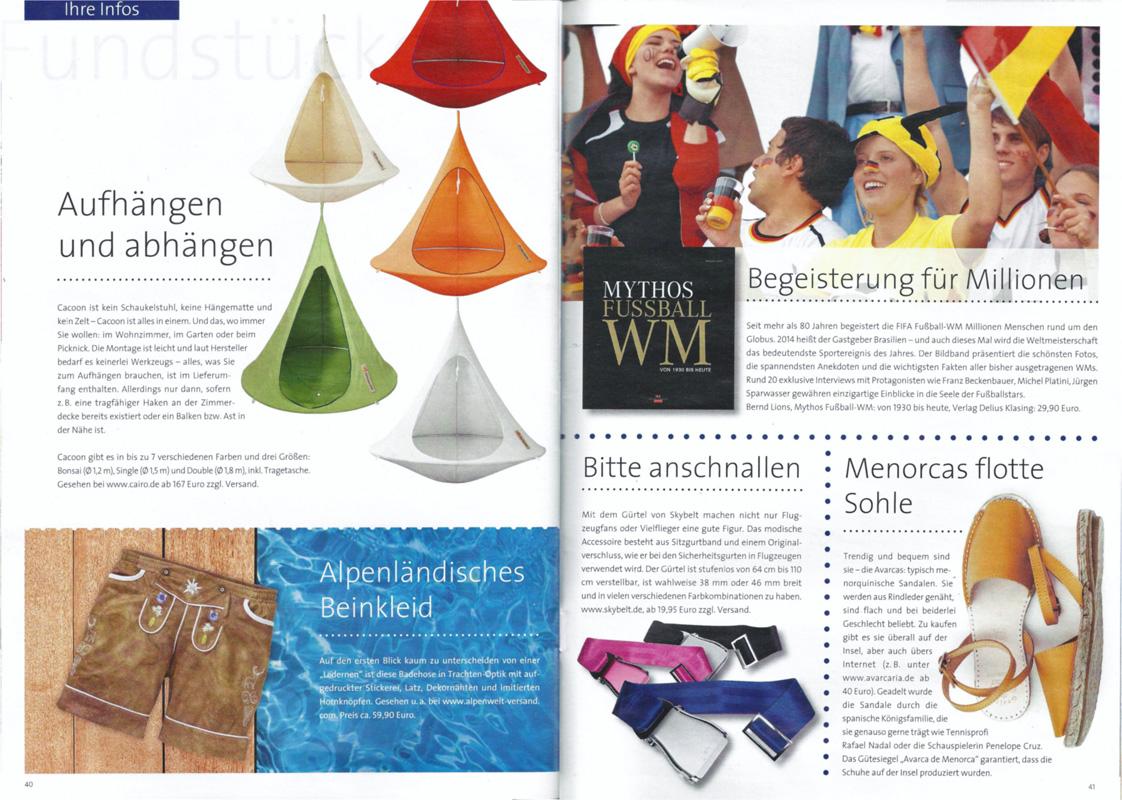 Luftpost das alltours Magazin Ausgabe 2/2014